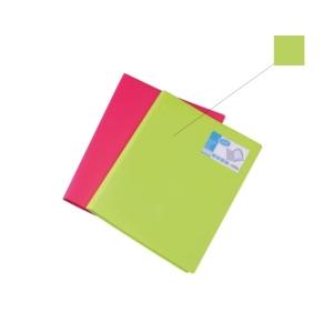 Bantex PP A4 Display Book Lime - 20 Pockets