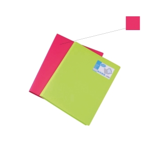 BANTEX PP MELON A4 DISPLAY BOOK - 40 POCKETS
