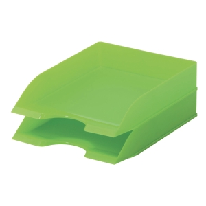 DURABLE GREEN 2 COMPARTIMENT LETTER TRAY FOR A4