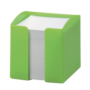 Durable Note Box 90 X 90mm Capacity 800 Paper Notes Green