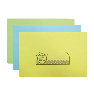 ABBA MANILA CARD YELLOW POCKET FILE