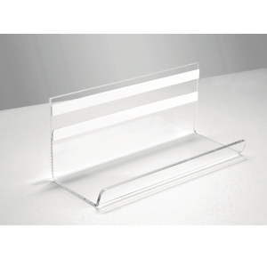 Sigel GL199 Clear Pen Tray For Glass Boards