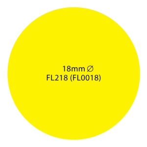 ABBA Yellow Label 19mm - Pack of 600 Labels