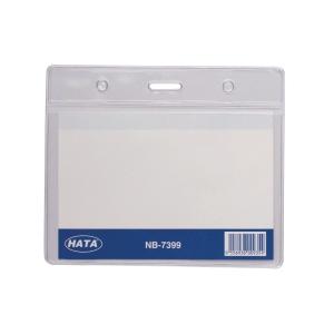 Hata Horizontal Name Badge - Box of 20