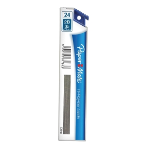 Papermate 2B Pencil Leads 0.5mm - Tube of 24