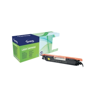 Lyreco HP CE312A Compatible Laser Cartridge - Yellow