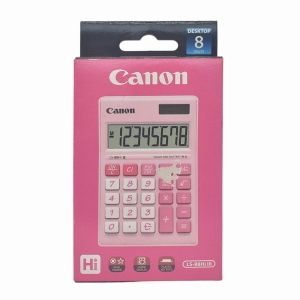CANON LS-88HI PASTEL PINK PORTABLE CALCULATOR 8 DIGITS