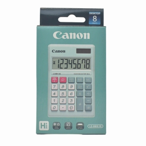 CANON LS-88HI PASTEL GREEN PORTABLE CALCULATOR 8 DIGITS