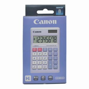 CANON LS-88HI PASTEL PURPLE PORTABLE CALCULATOR 8 DIGITS
