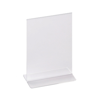 ACRYLIC DOUBLE SIDED BROCHURE HOLDER 150 X 210MM