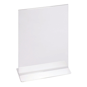 ACRYLIC DOUBLE SIDED BROCHURE HOLDER 210 X 297MM