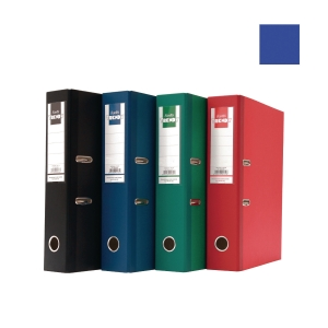 Bantex Trendy Paper Lever FC Arch File Dark Blue 5cm