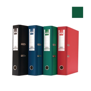 Bantex Trendy Paper Lever FC Arch File Green 5cm