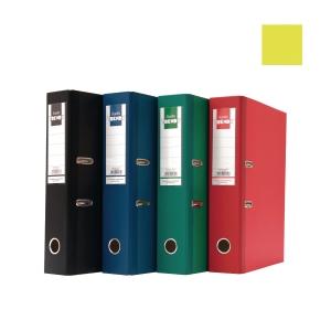 Bantex Trendy Paper Lever FC Arch File Yellow 5cm