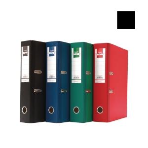 Bantex Trendy Paper Lever FC Arch File Black 5cm