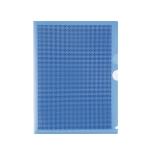 PLUS CAMOUFLAGE BLUE FOLDER WITH HARD COVER