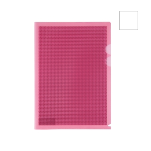 PLUS CAMOUFLAGE CLEAR FOLDER WITH HARD COVER