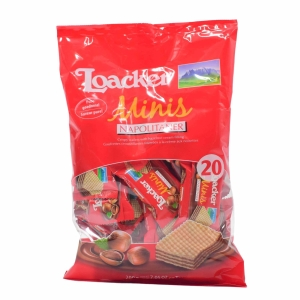Loacker Mini Napolitaner Wafer 200g