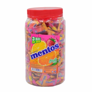 MENTOS FRUIT SWEETS - PACK OF 330