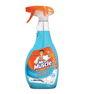 MR MUSCLE GLASS CLEANER TRIGGER 500G