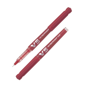 PILOT Begreen HI-TECPOINT Needle Point Pen 0.5mm Red