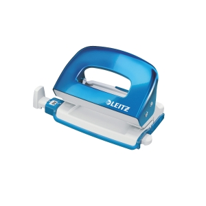 LEITZ 50601 WOW BLUE MINI PUNCH - 10 SHEETS CAPACCITY