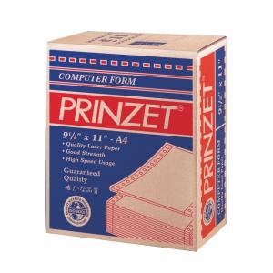 PRINTZET WHITE A4 COMPUTER FORM 1PLY