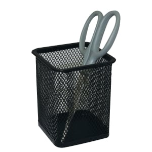DELI SQUARE BLACK PEN HOLDER