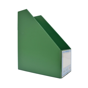 HATA PVC GREEN MAGAZINE FILE 12CM
