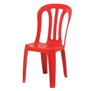 WRITEBEST PLASTIC RED CHAIR