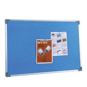 Writebest Foam Notice Board 120 X 120cm - Blue