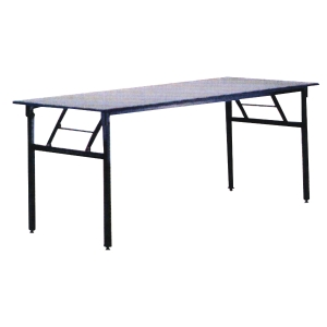 Writebest Rectangular Grey Foldable Table 1200 X 450 X 760mm