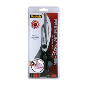 3M SCOTCH BLACK KITCHEN SCISSORS 21CM