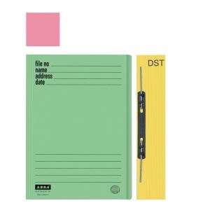 ABBA 102DST MANILA PINK CARD FOLDER