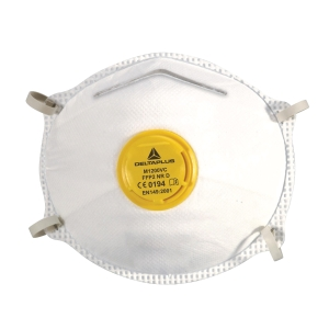 DELTA PLUS N95 MASK WITH VALVE - BOX OF 10