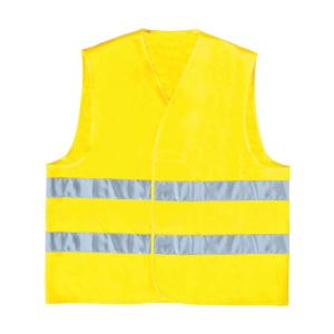 DELTA PLUS GILP2 HI-VIZ YELLOW JACKET SIZE L