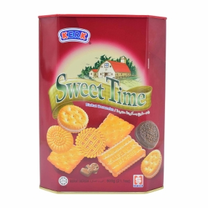 Kerk Hup Seng Sweet Time Assorted Biscuits - Box of 600g