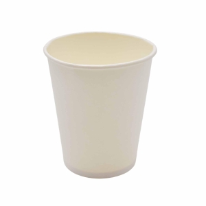 Paper White Cups 80Z - Pack of 50