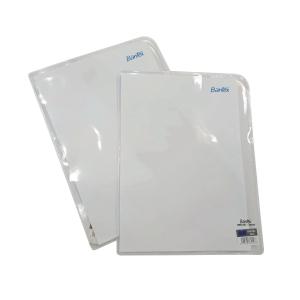 BANTEX PVC L SHAPE CLEAR A4 FOLDER - PACK OF 25
