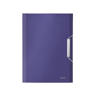 Leitz Style Titan 3 Flap 3 Folder Blue