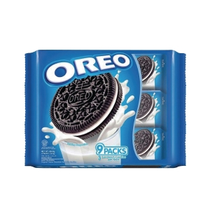 OREO VANILLA SANDWICH COOKIES 29.4G - PACK OF 9