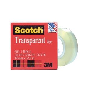 Scotch 600 Clear Tape 19mm X 33m