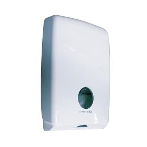 AQUARIUS WHITE COMPACT TOWEL DISPENSER