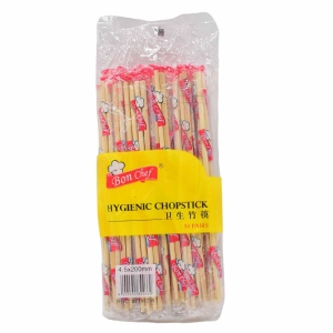Bamboo Chopstick 8 Inch - Pack of 50