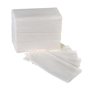 Luncheon White Napkin 1/8 2Ply Pack of 125 Sheets