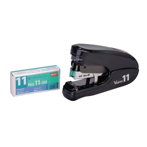 MAX HD-11FLK FLAT-CLINCH ASSORTED COLORS STAPLER - 35 SHEETS CAPACITY