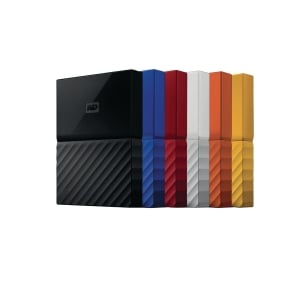 Western Digital MY Passport Ultra USB3.0 1TB Assorted Colour
