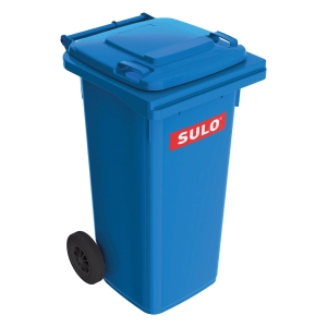 SULO 2-WHEELED BLUE CONTAINER