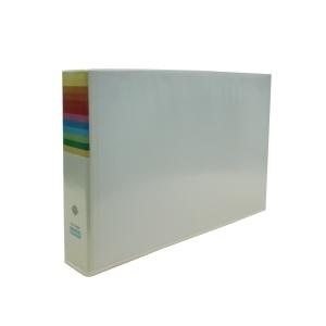 BANTEX INSERT WHITE A3 BINDER PVC 52MM