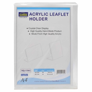 SUREMARK ACRYLIC TRANSPARENT VERTICAL LITERATURE HOLDER